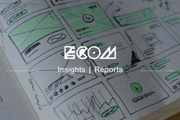 ECOM logo insights reports banner user experience journey