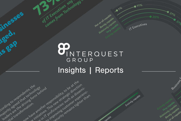 InterQuest Group logo insights reports banner screenshot of a report