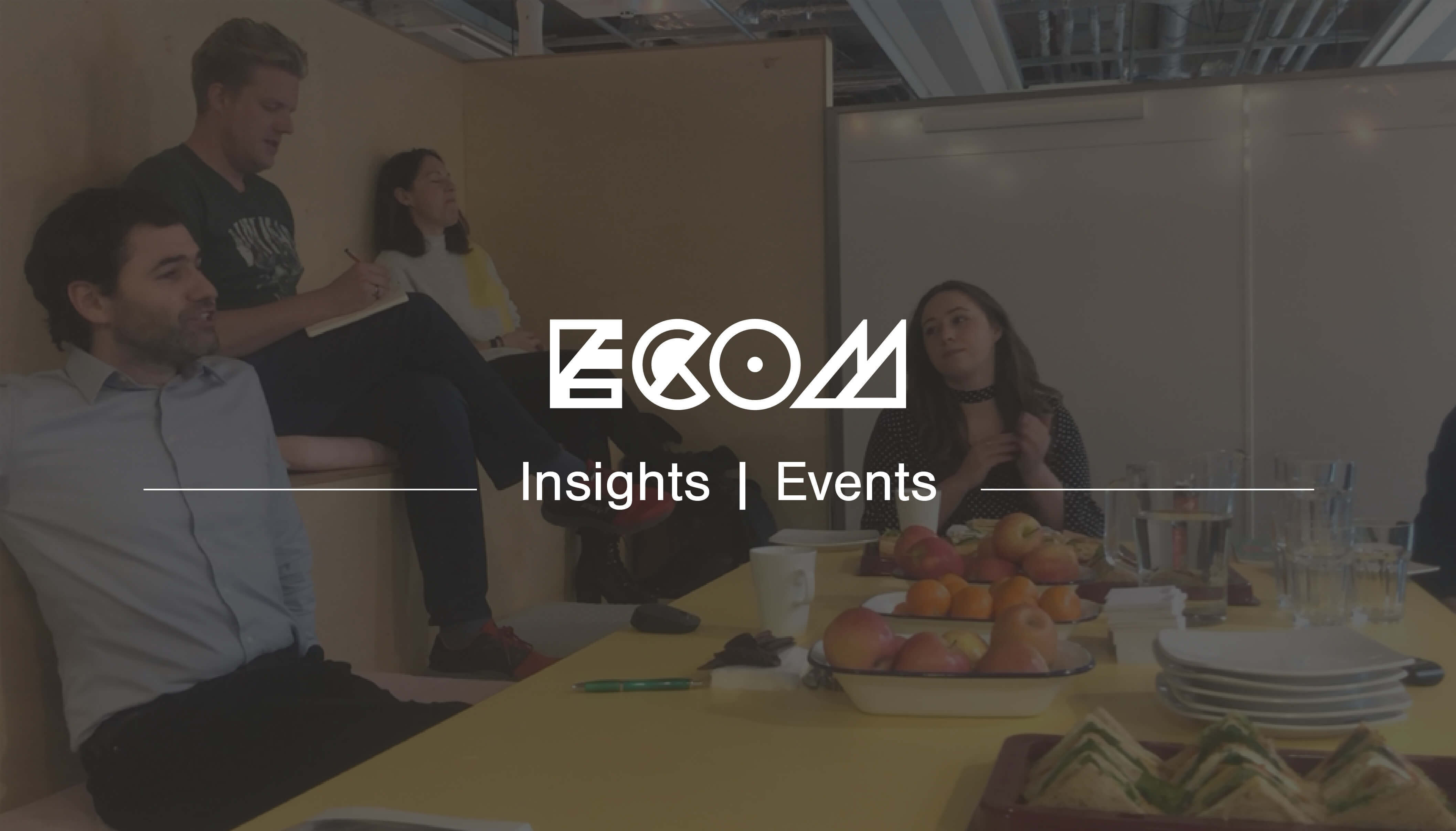 ecom Insights events banner
